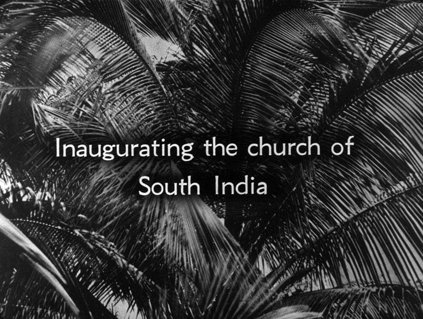 Church of South India is Born. Scene 58: Inaugurating the Church of South India
