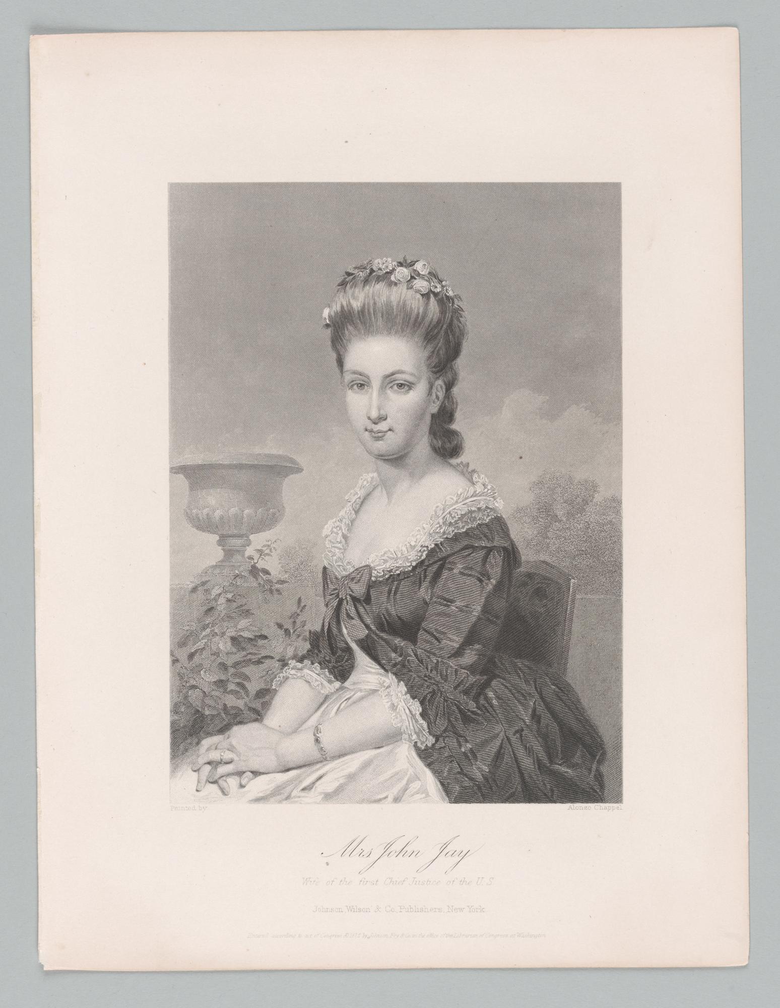 Mrs. John Jay, front