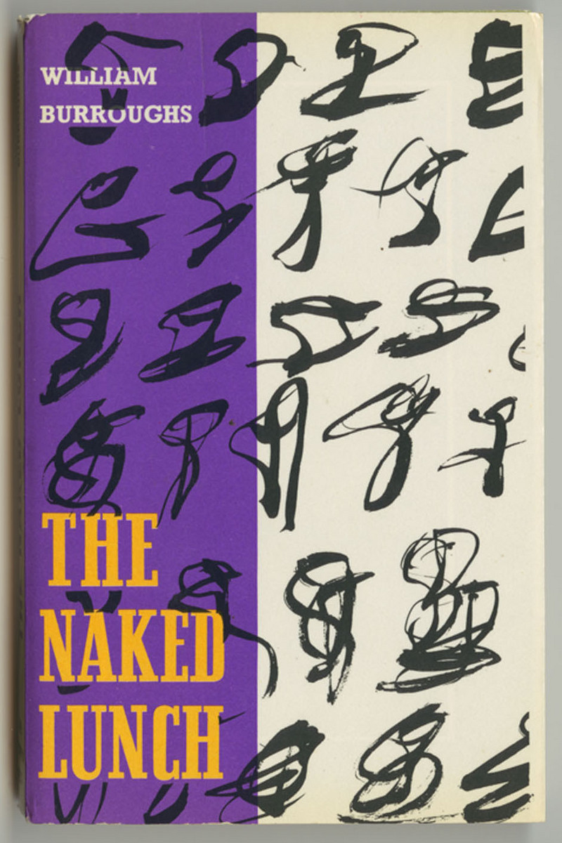 Traveller's Companion: no. 76, Naked Lunch, dust jacket front cover