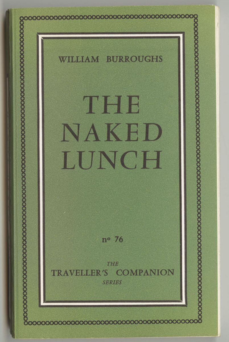 Traveller's Companion: no. 76, Naked Lunch, front cover