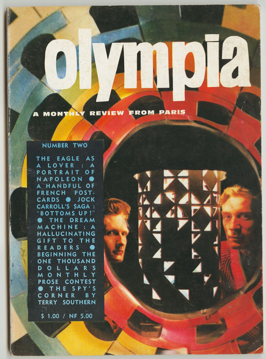 Olympia: a Monthly Review from Paris, Number Two, front cover