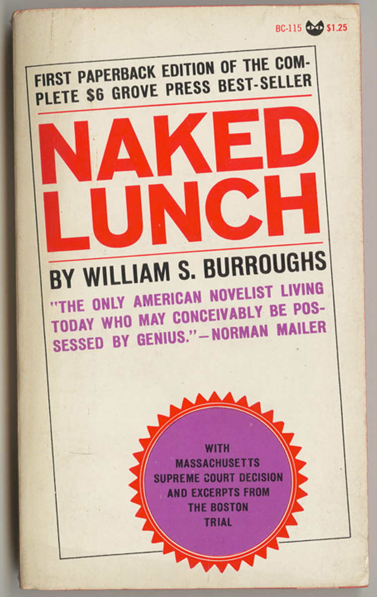 Naked Lunch, front cover