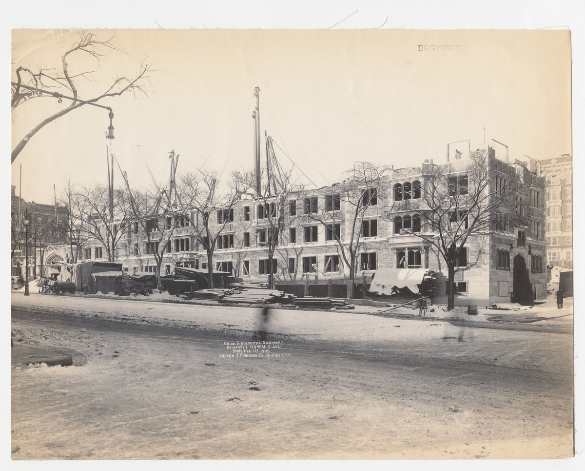 Union Theological Seminary, Broadway and 122nd St. C-6921. Dormitory