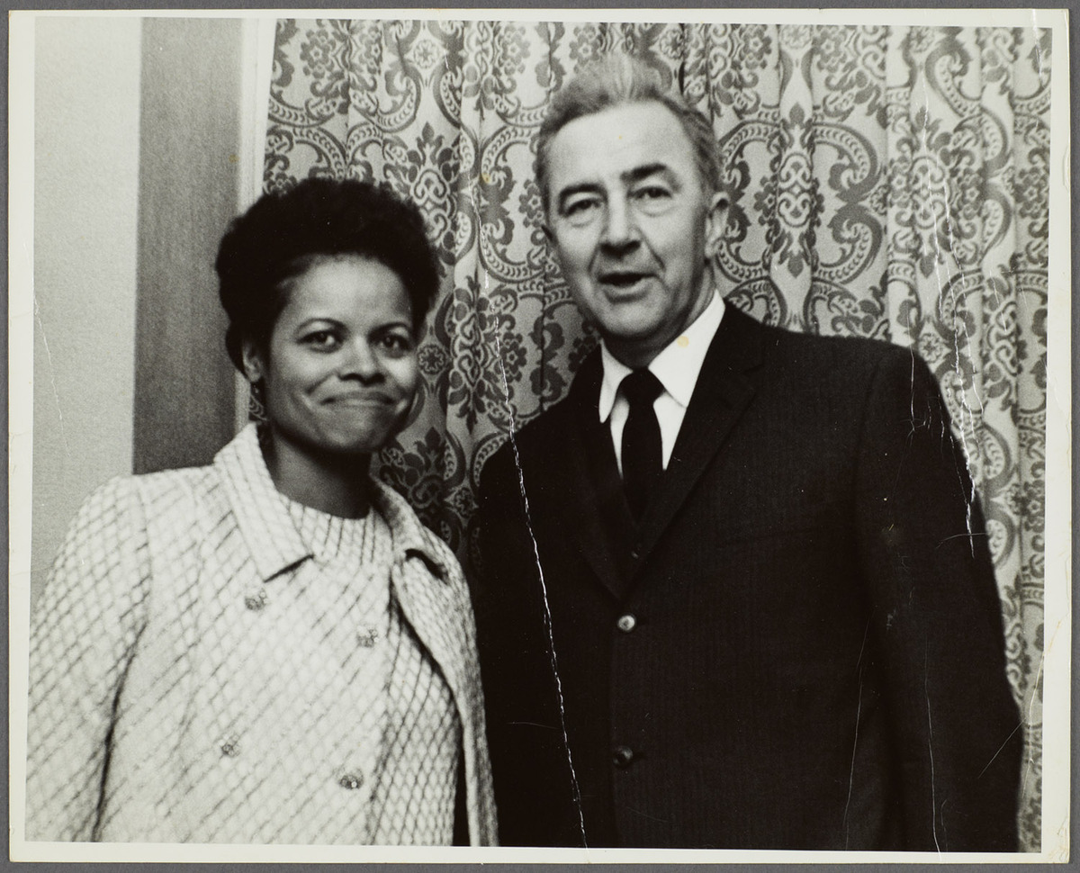 Barbara Kay and Eugene McCarthy