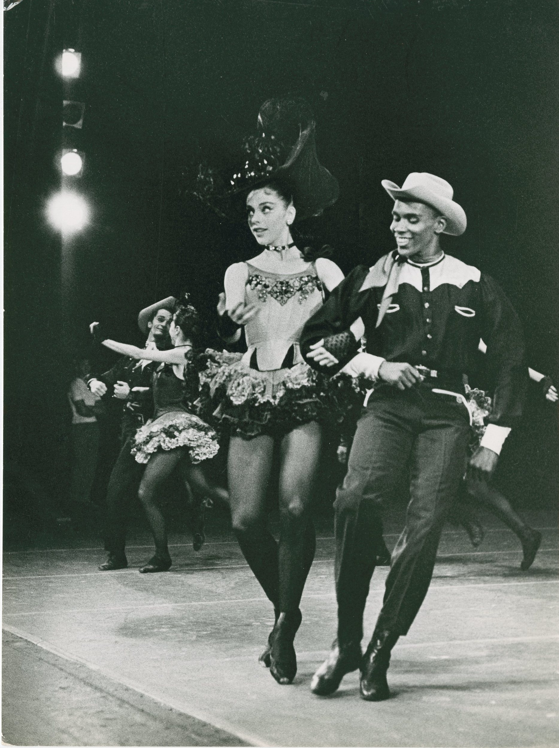 """Arthur Mitchell with Gloria Govrin in """"Western Symphony"""""""