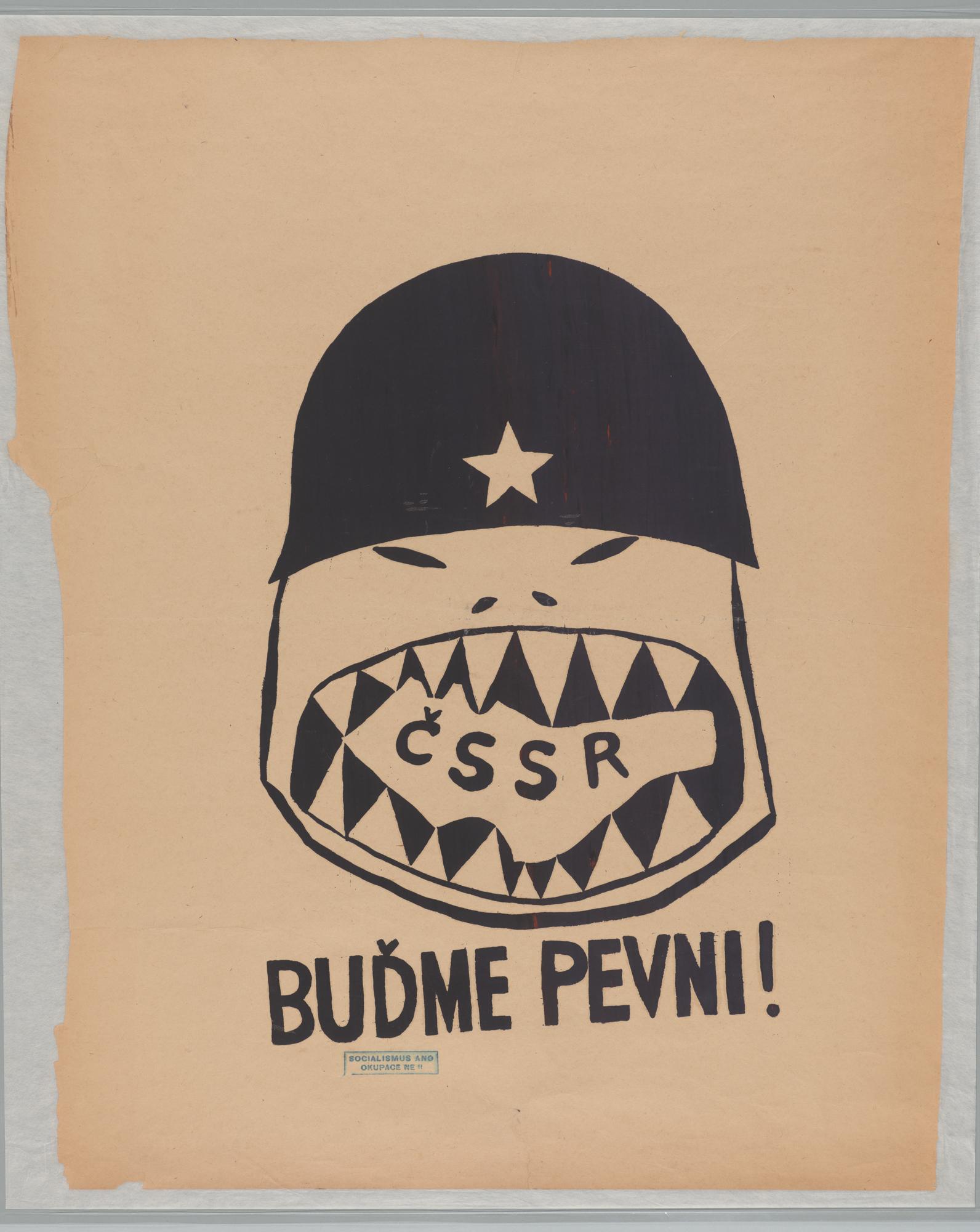 ČSSR - Budme pevni