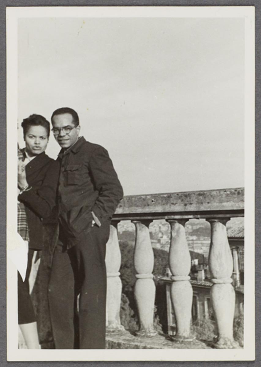 Barbara and Ulysses Kay in Rome