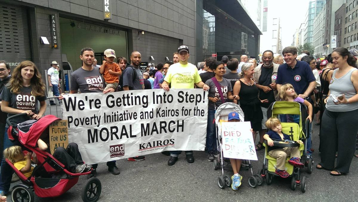 Kairos Center participants in the 2014 Climate March