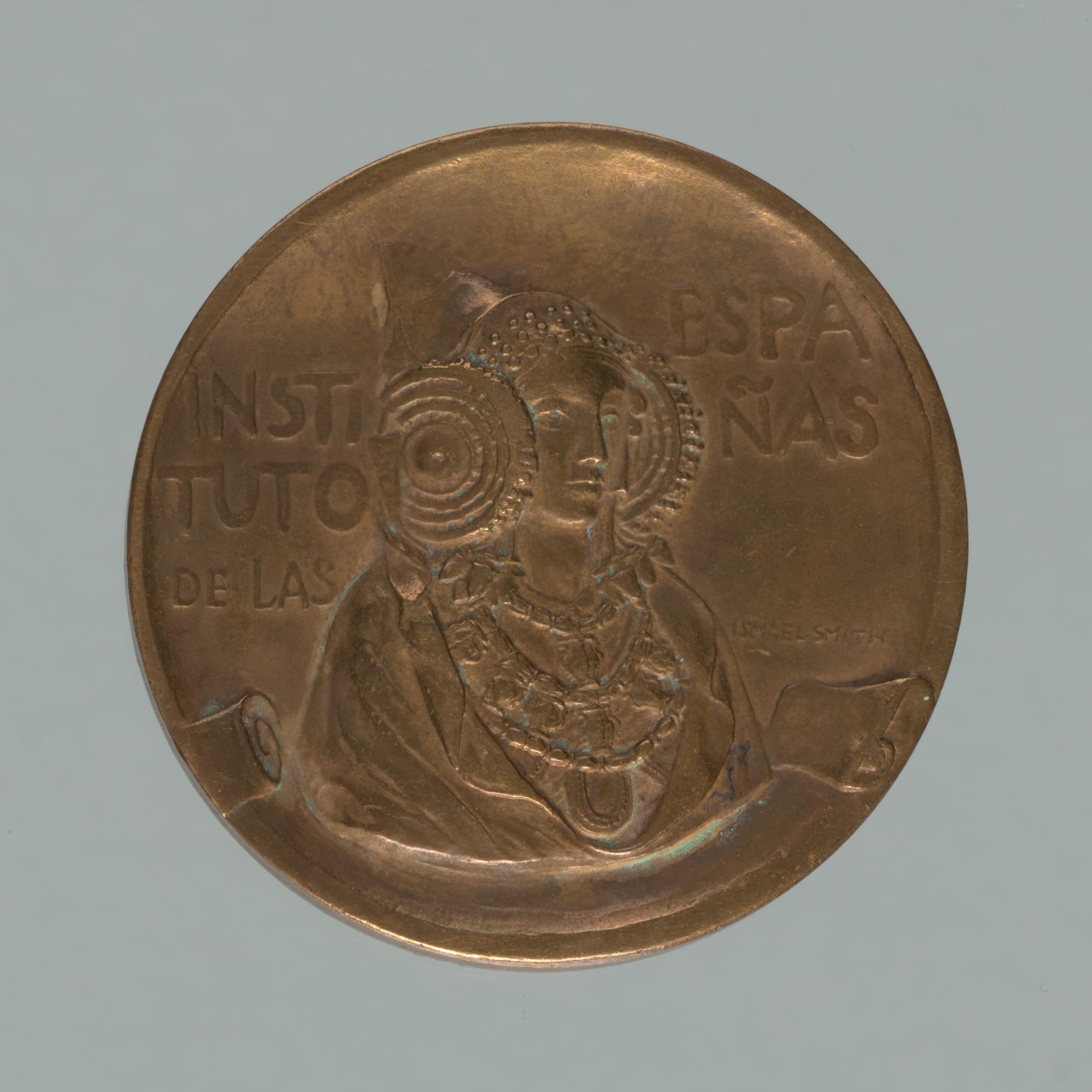 Instituto de las Españas Medal . recto