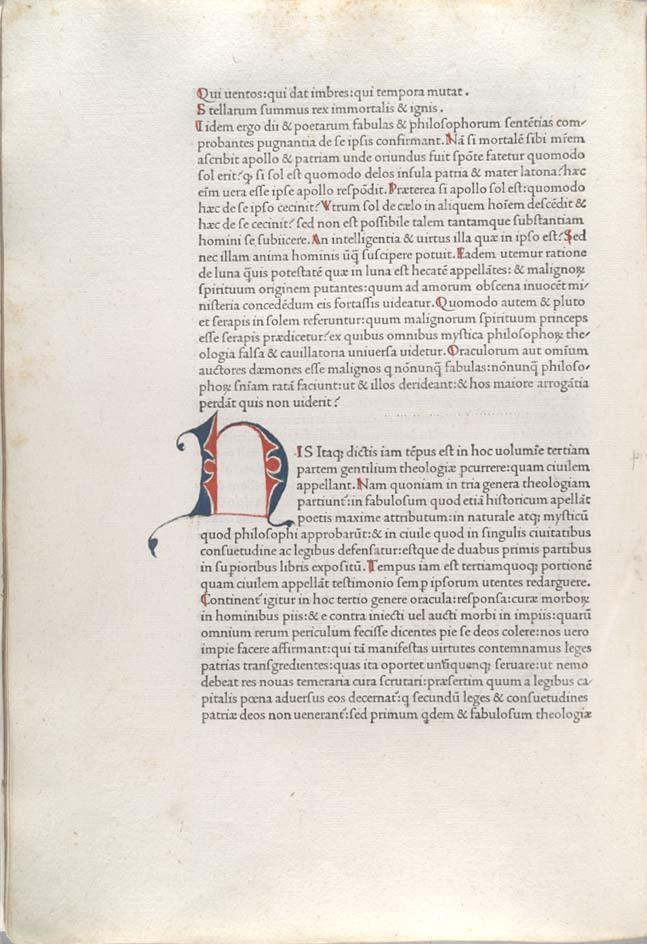 De evangelica praeparatione, unnumbered page