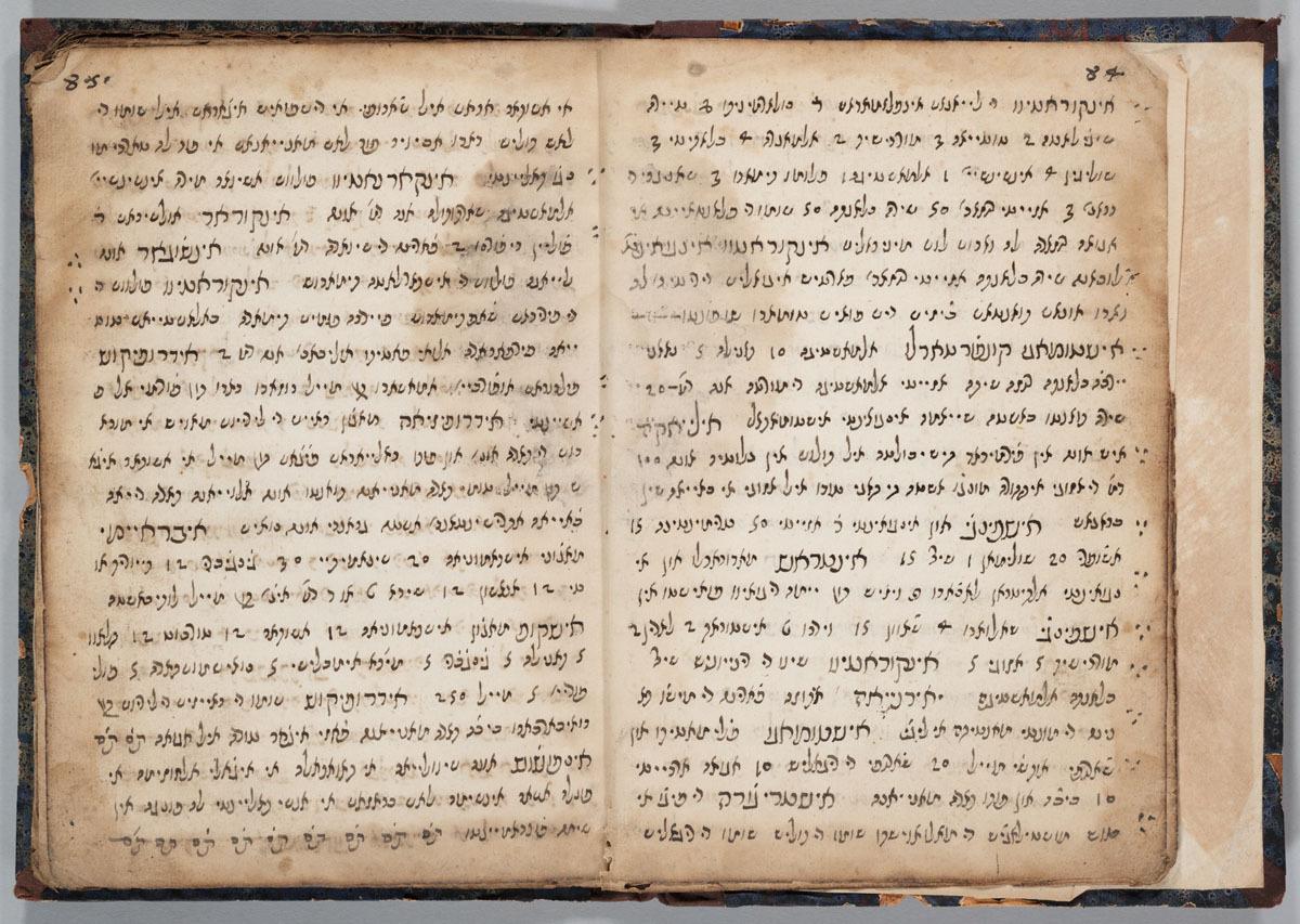 Materia medica: Ladino. 84v-85r