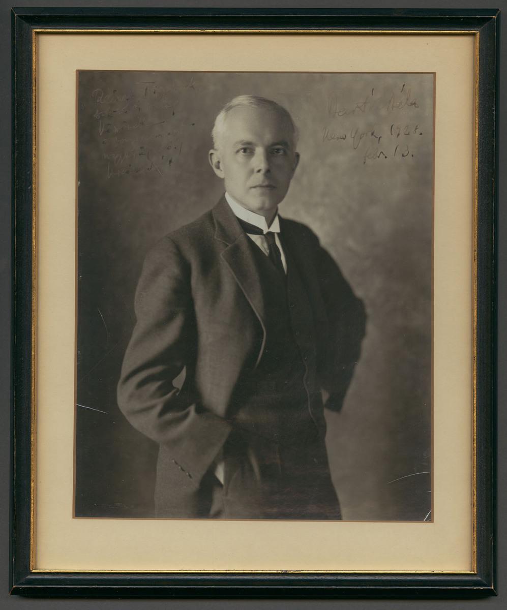 Portrait of Béla Bartók