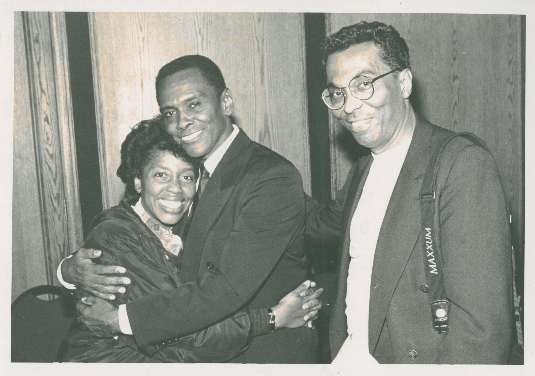 Arthur Mitchell with Tania Leon and Walter Raines