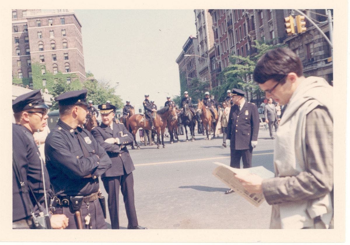 Police at 1968 Commencement<br />