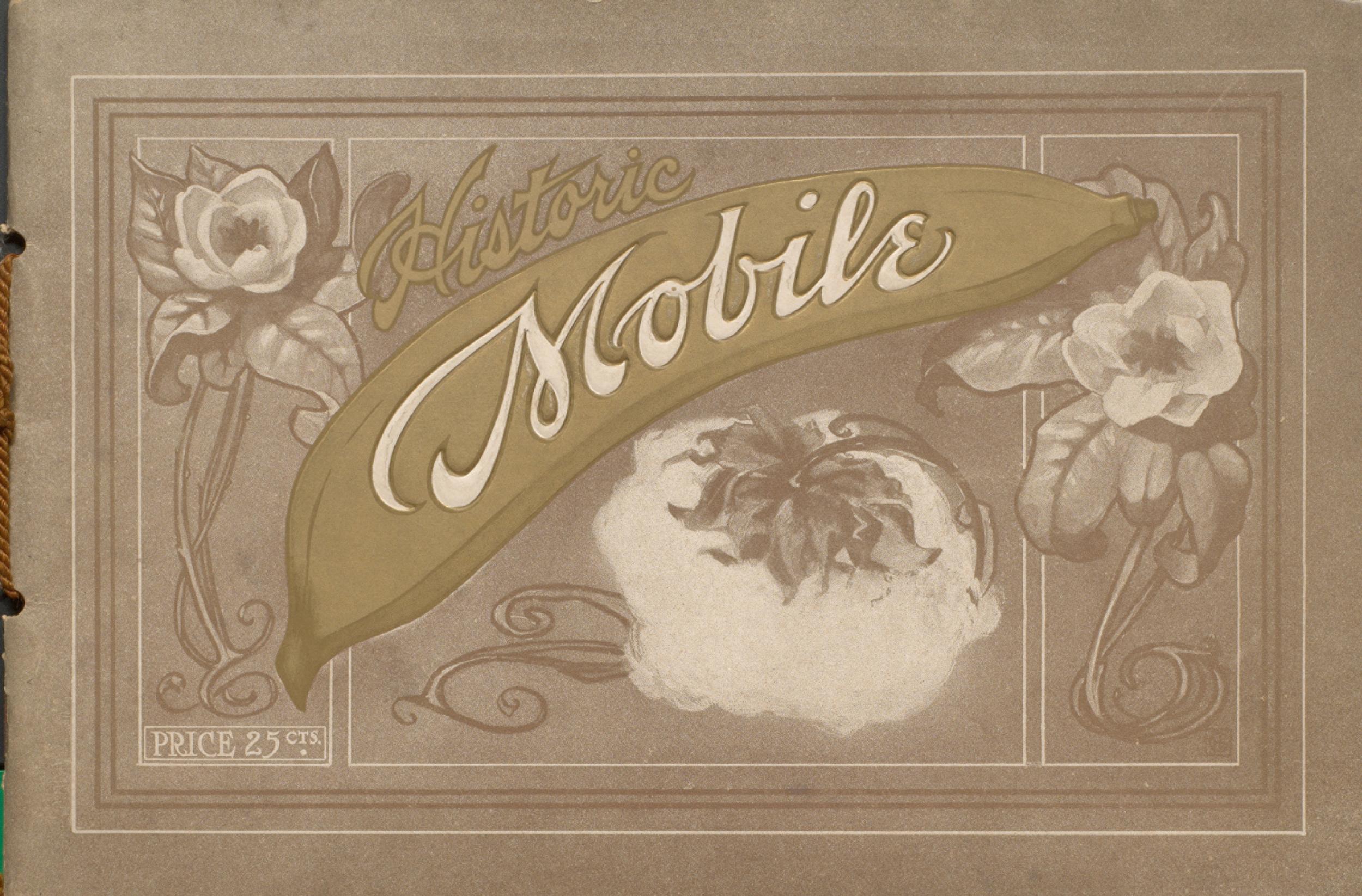 Cutter's Souvenir of Mobile, Alabama. Cover.