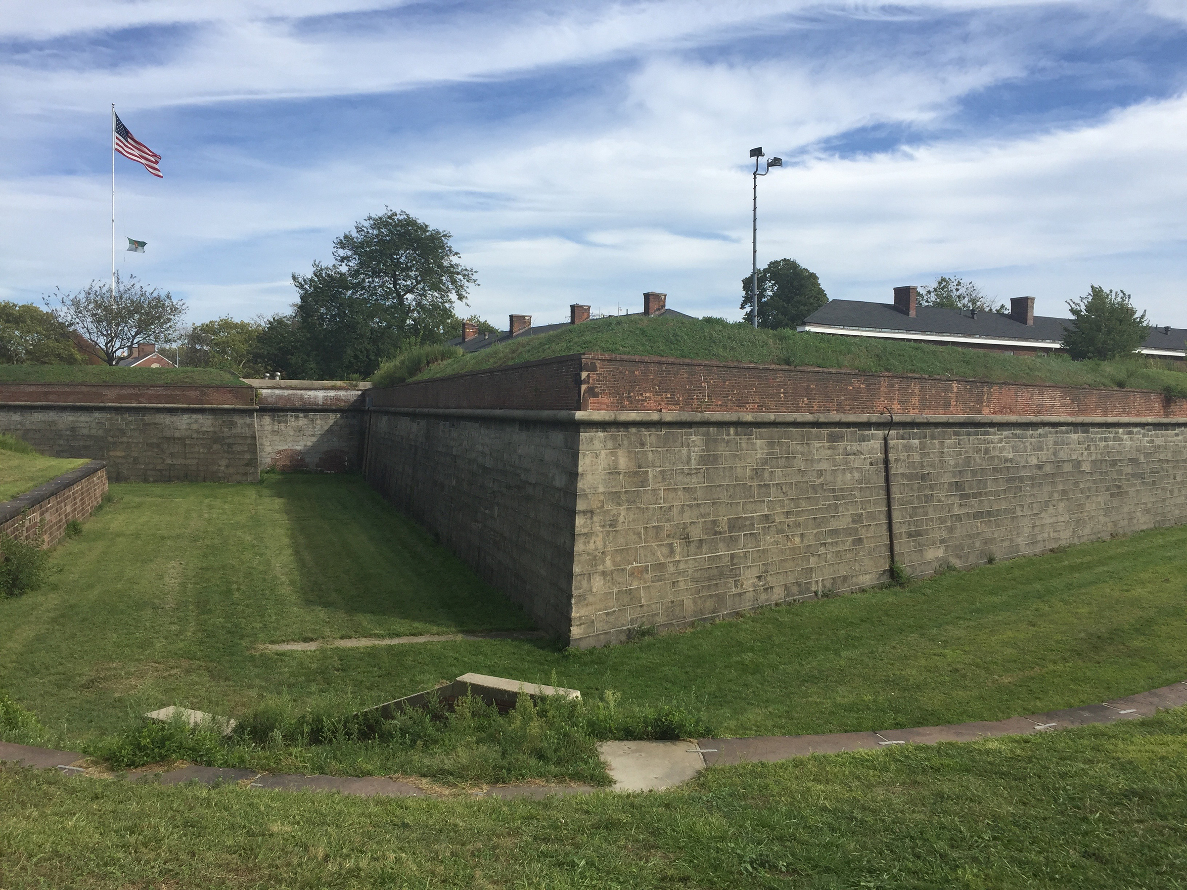 Fort Jay (Photograph), front