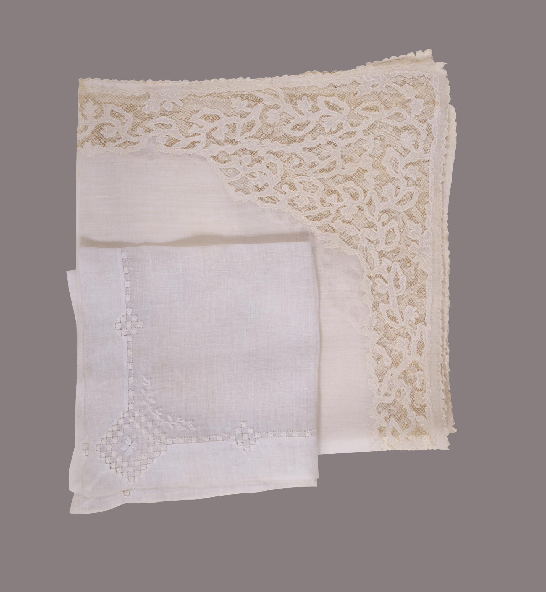 Wedding handkerchiefs of Alexander and Elizabeth Hamilton