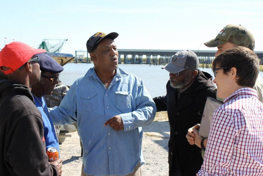 Union staff and alumni learn how devastation continues years after the BP oil spill