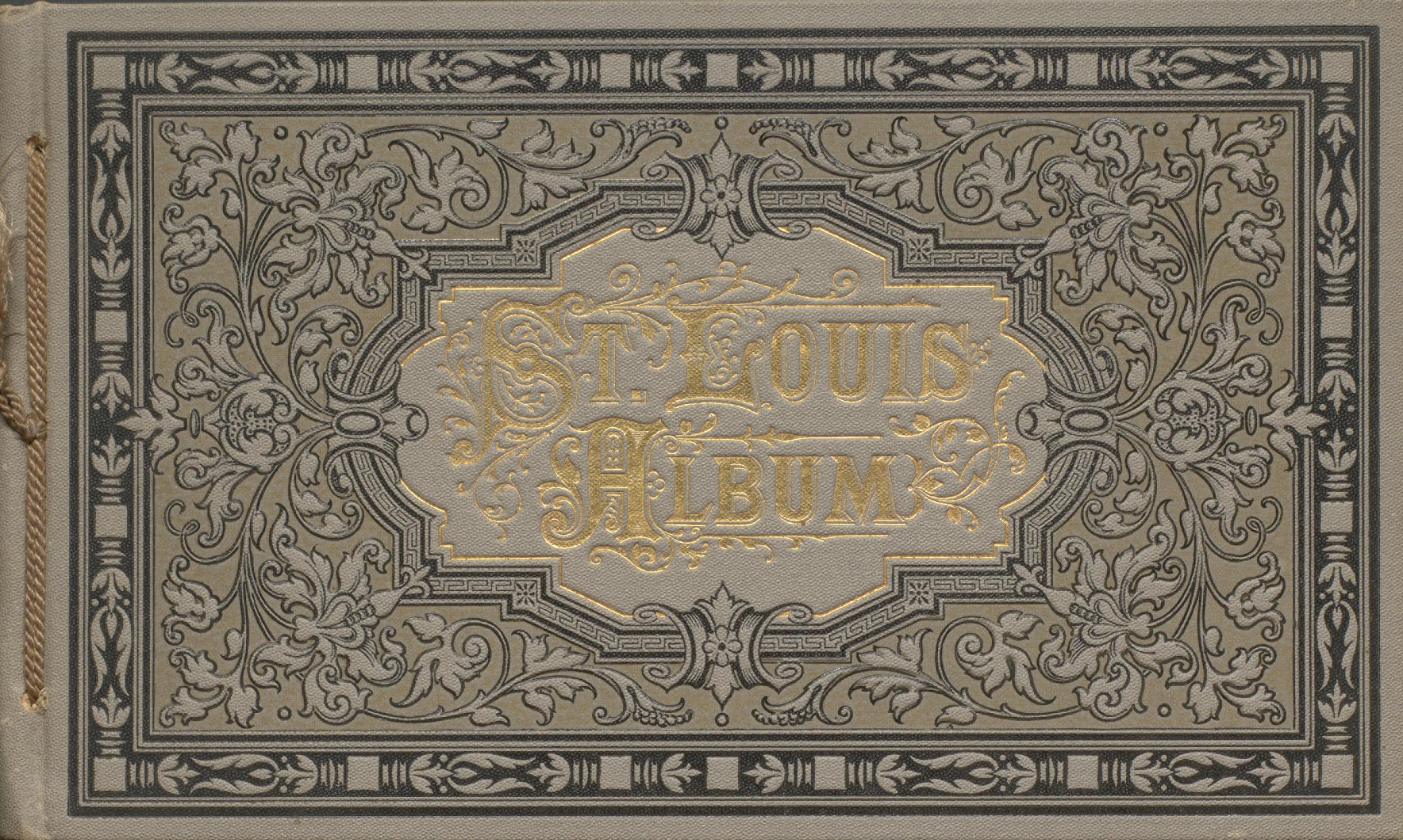 A Souvenir of St. Louis. Cover.