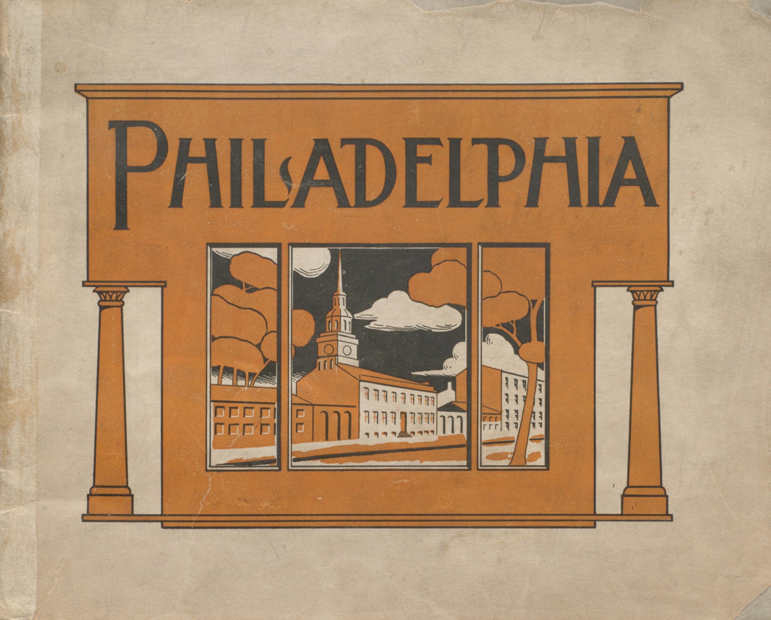 Philadelphia. Cover.
