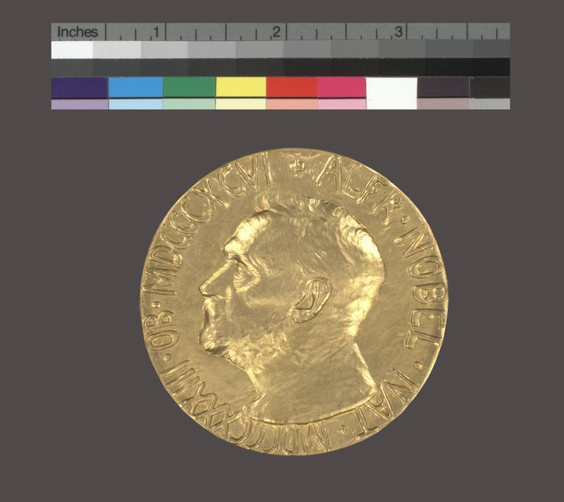 Medal, Nobel Prize for Peace, 1931