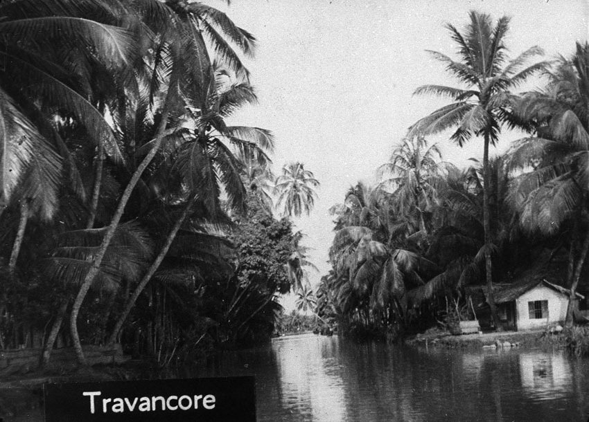 Church of South India is Born. Scene 15: palm shore, Travancore