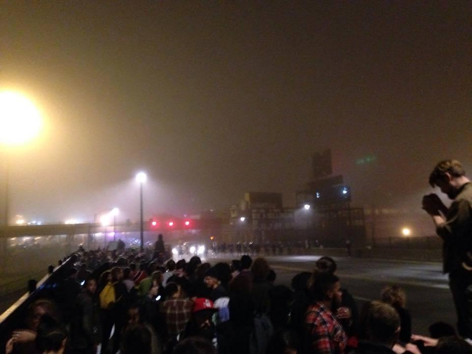 Night Time in Ferguson
