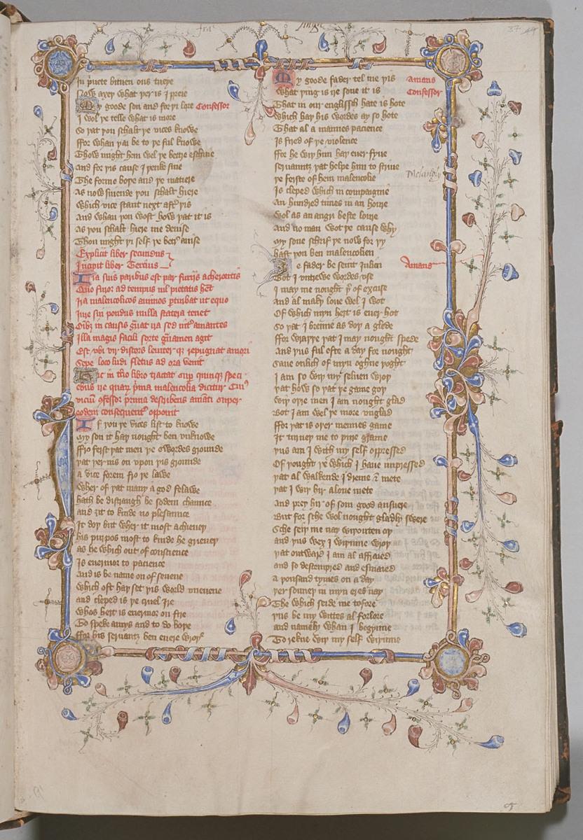Confessio Amantis, Folio 37r