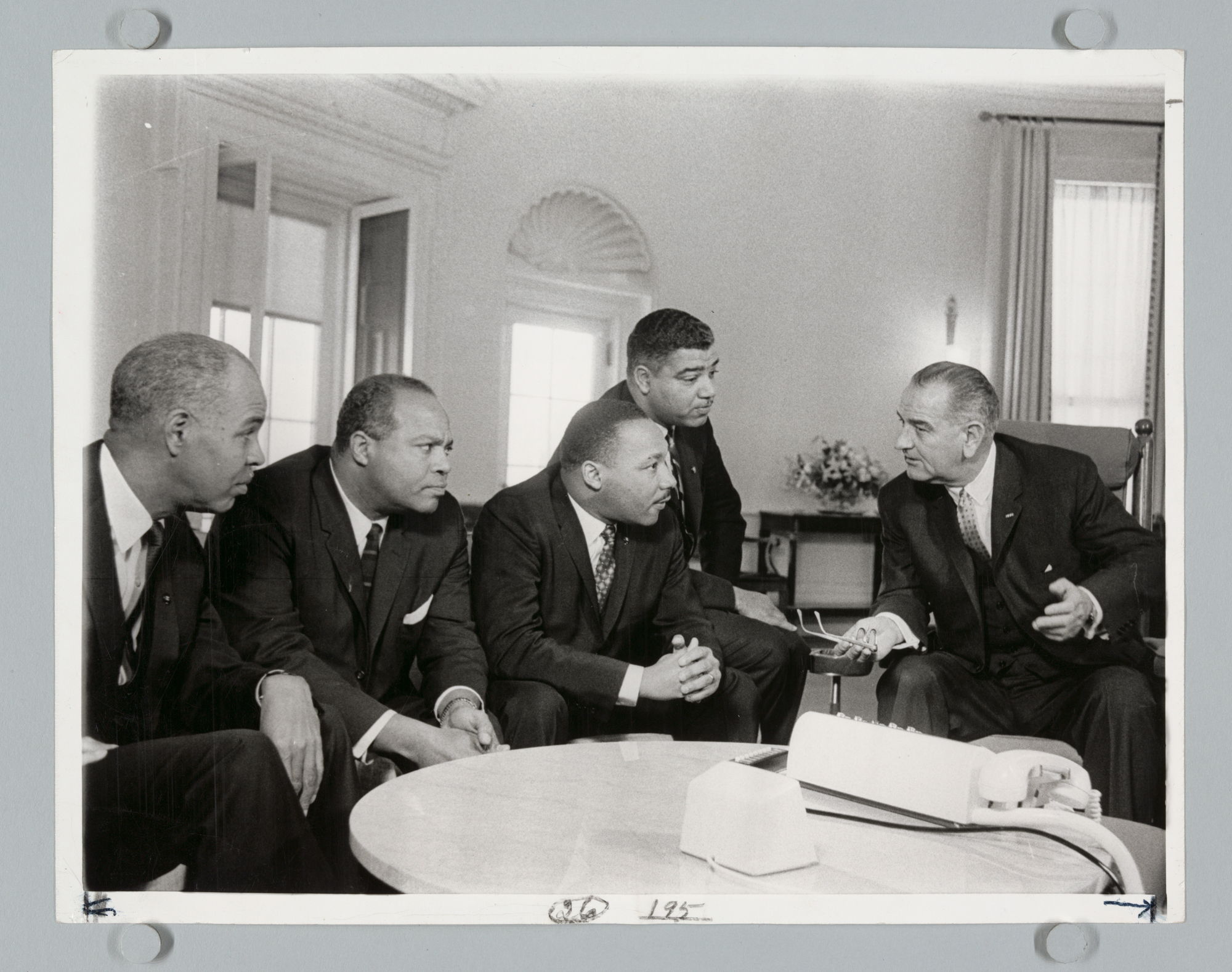 Negro Leaders Call at White House