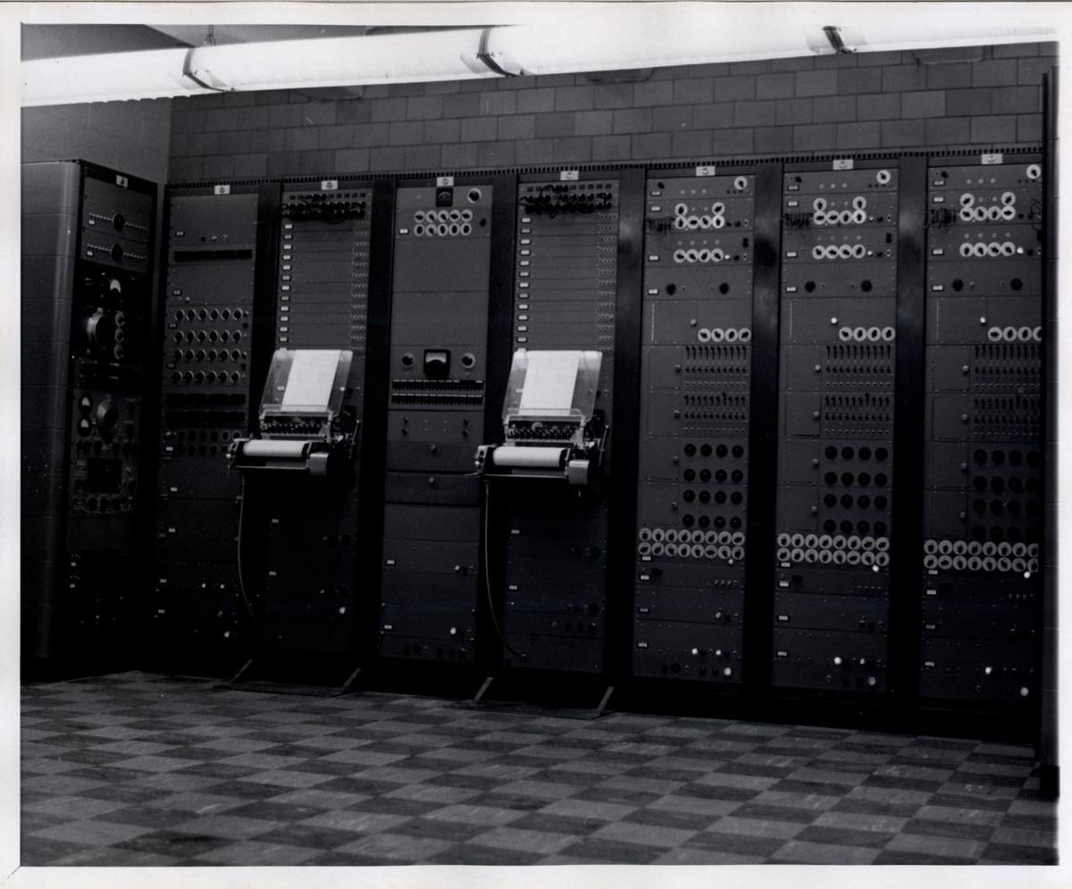 RCA Mark II Sound Synthesizer, Prentis Hall