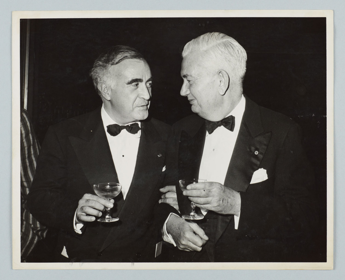 Photograph of Douglas Moore and Carlos Chavez