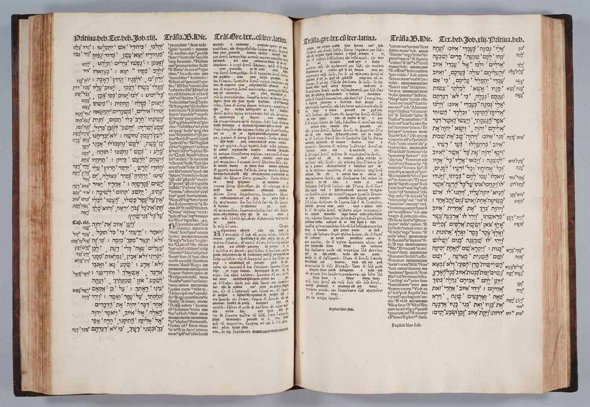 Bible. Polyglot. Complutensian. Job
