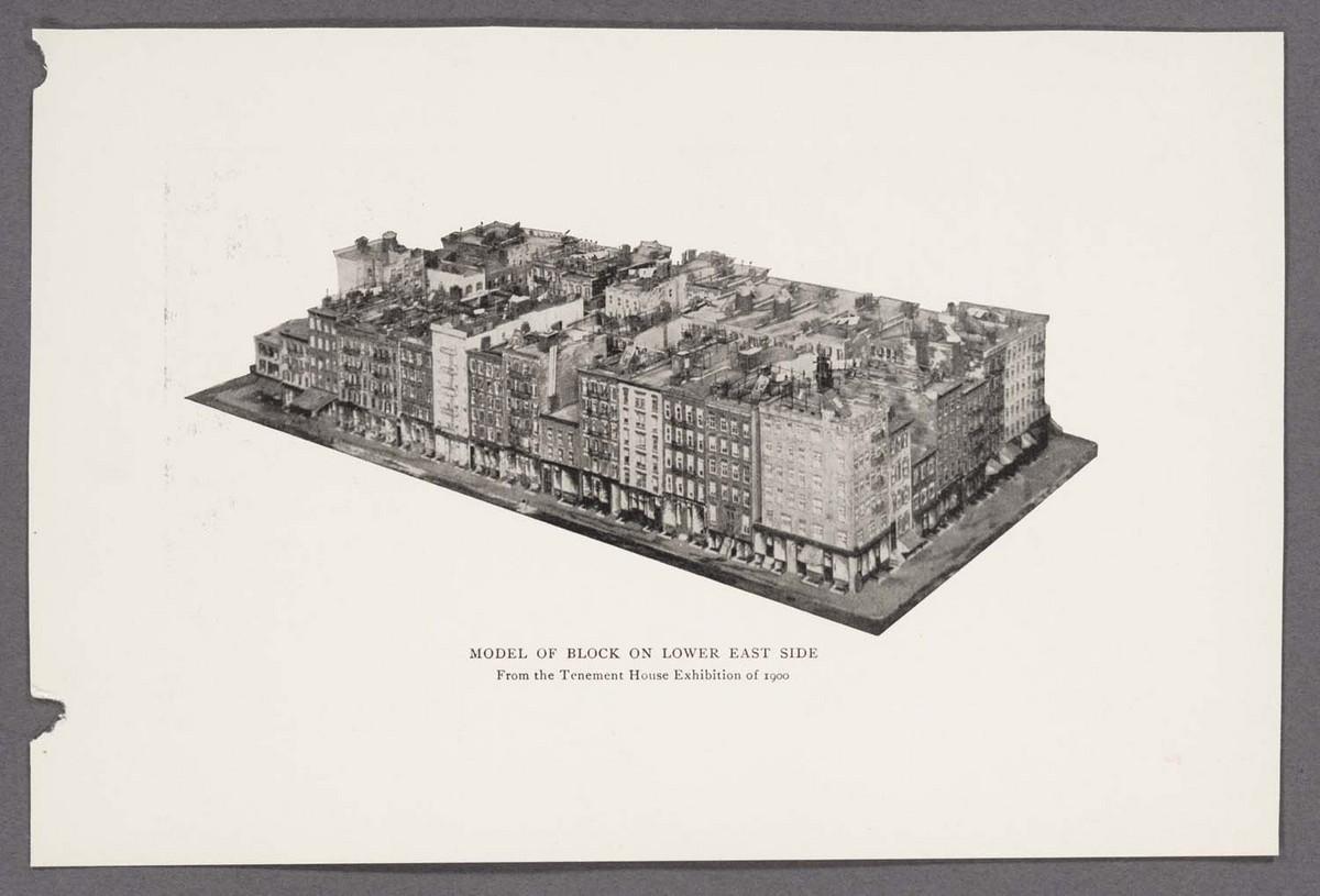 Model of Block on Lower East Side