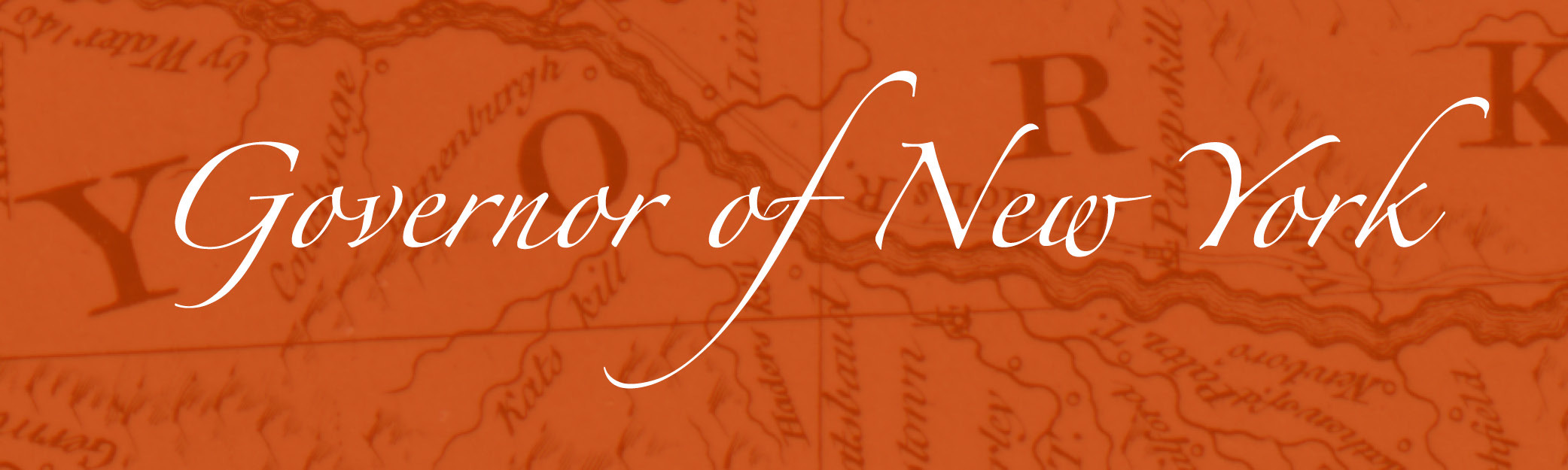 Governor of New York Banner