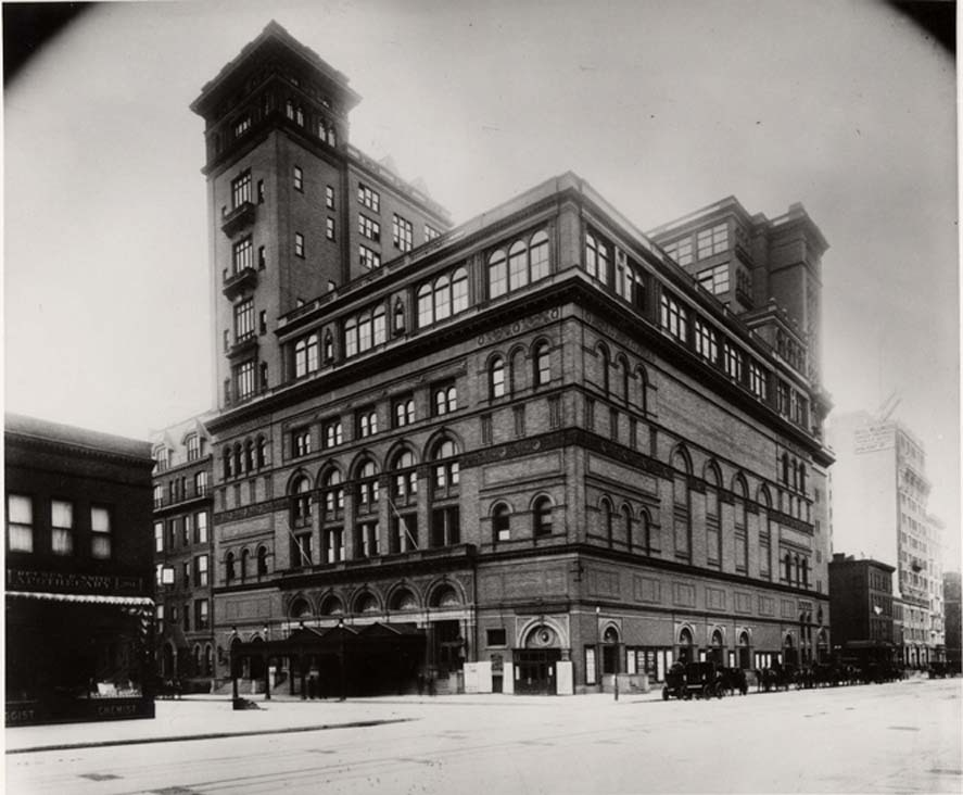 Carnegie Hall, 1899