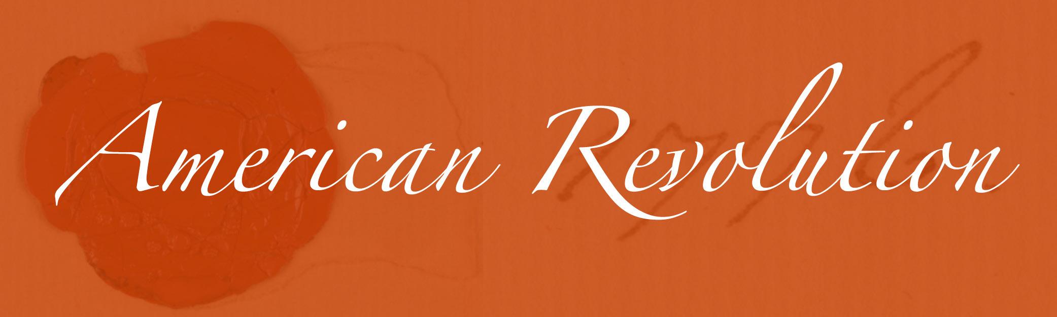 American Revolution Banner