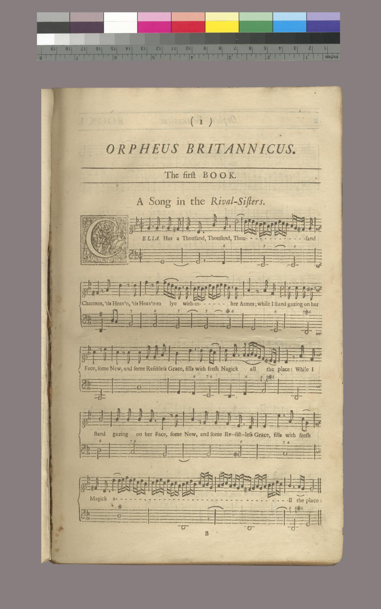 Orpheus Britannicus. A collection of all the choicest songs...The Second Book, which renders the First Compleat