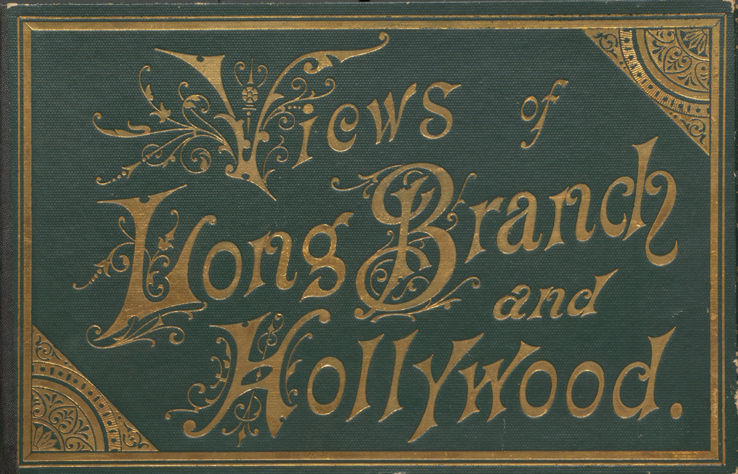 Views of Long Branch and Hollywood. Cover.