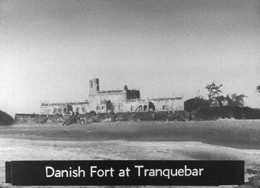 Church of South India is Born. Scene 28: Danish Fort at Tranquobar