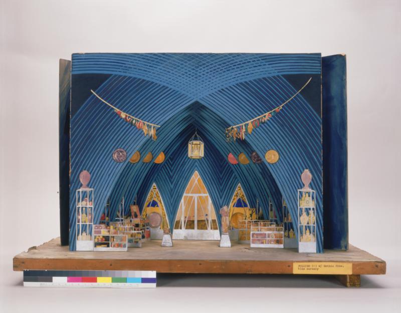 Blue Nursery Scene, The Ziegfeld Follies