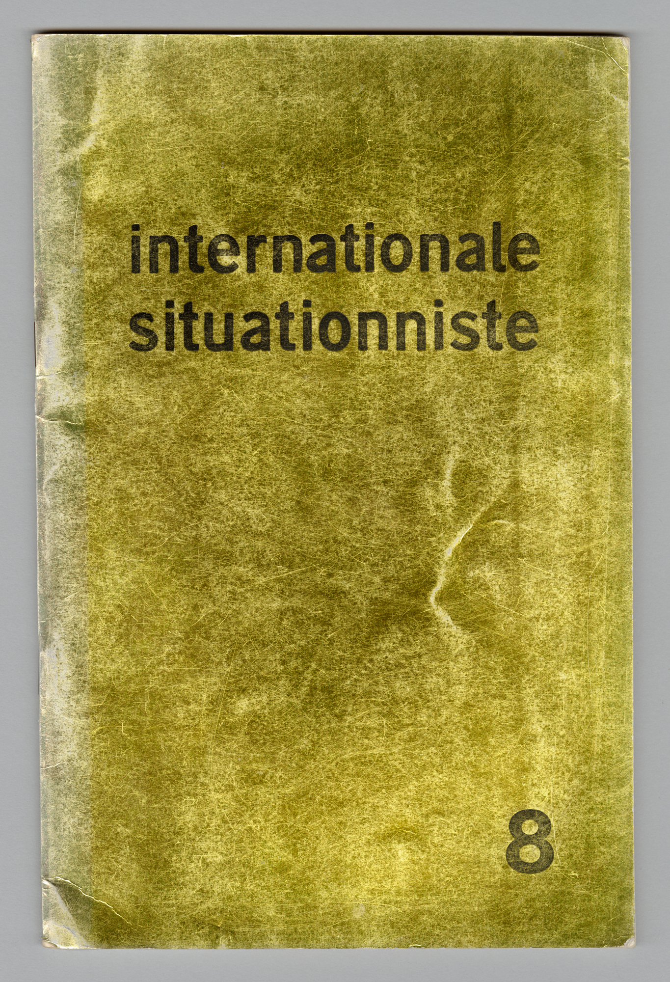 Internationale Situationiste No. 8, Front Cover