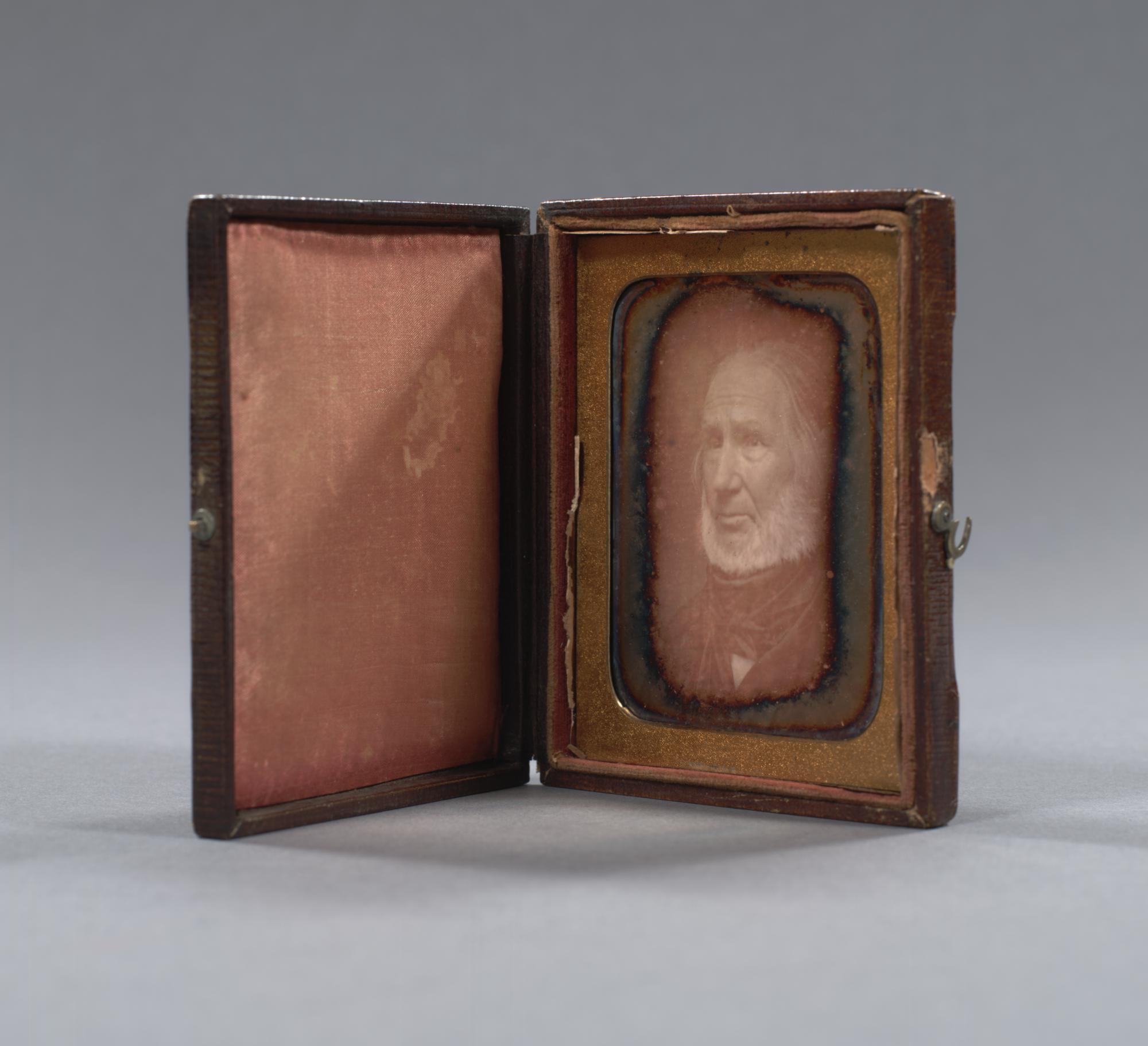 Daguerreotype portrait of Alexander Anderson