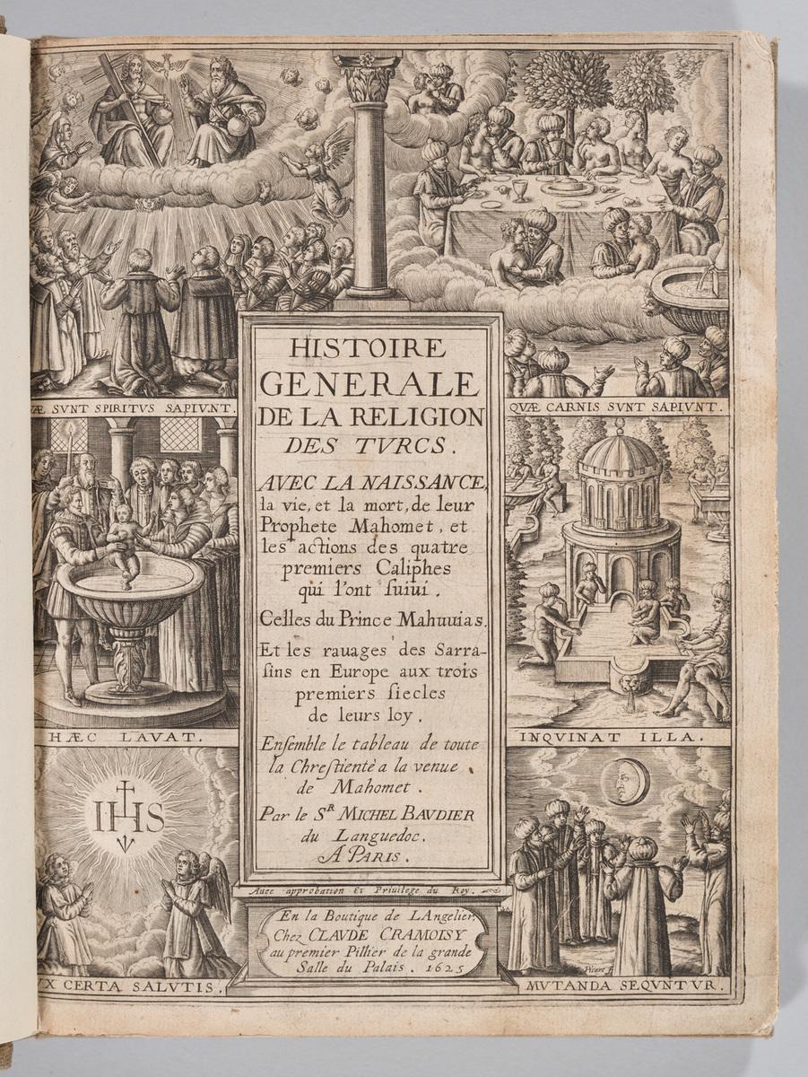 Histoire générale de la religion des Turcs, title page