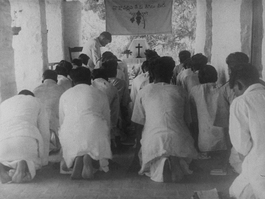 Church of South India is Born. Scene 43: service