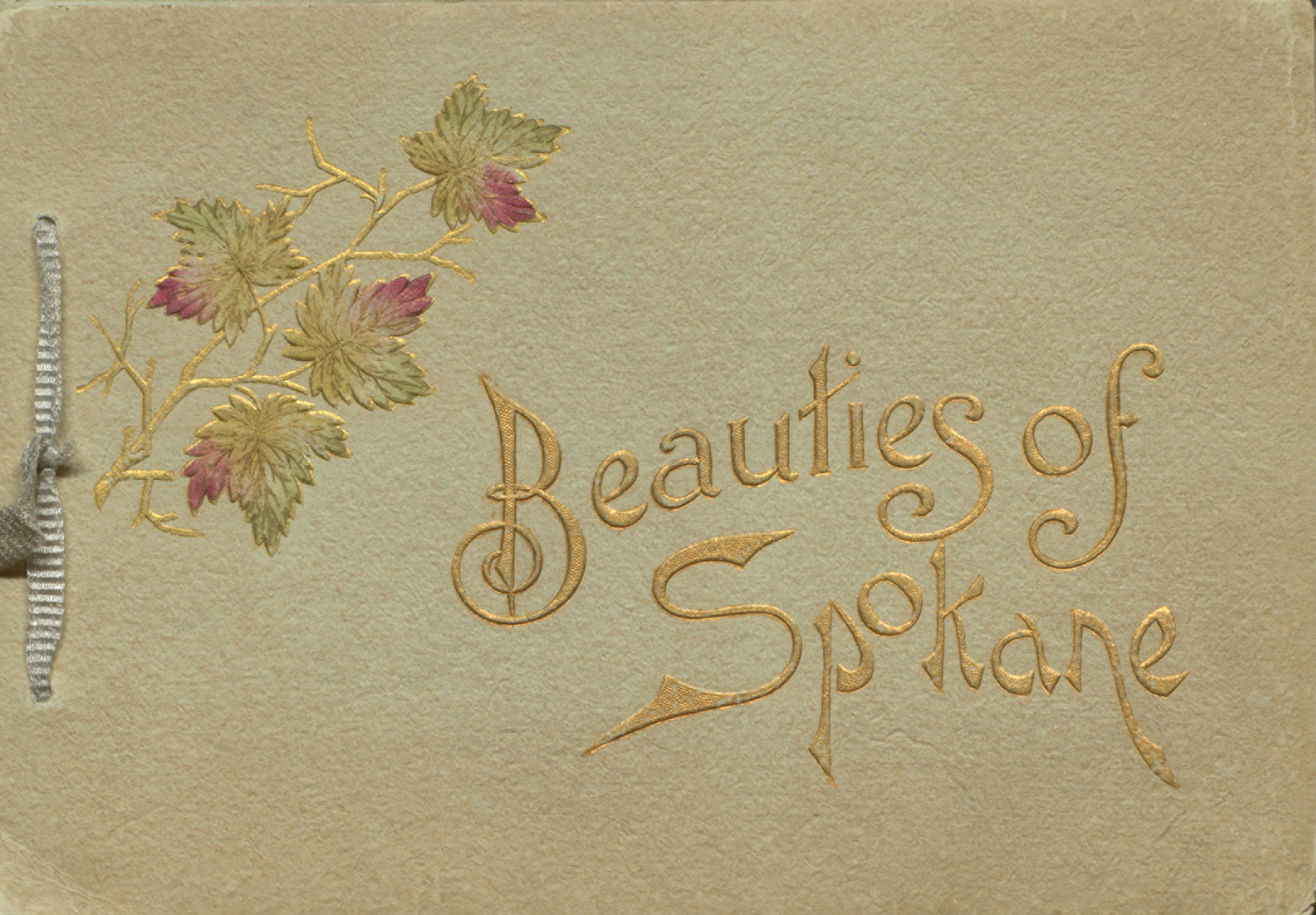 Beauties of Spokane. Cover.