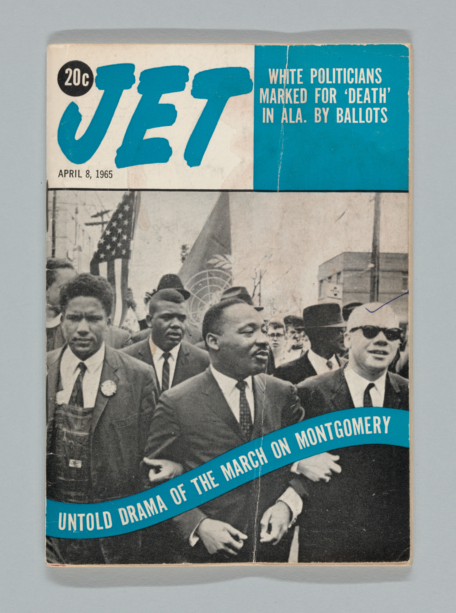 Jet Magazine, April 8, 1965. Cover