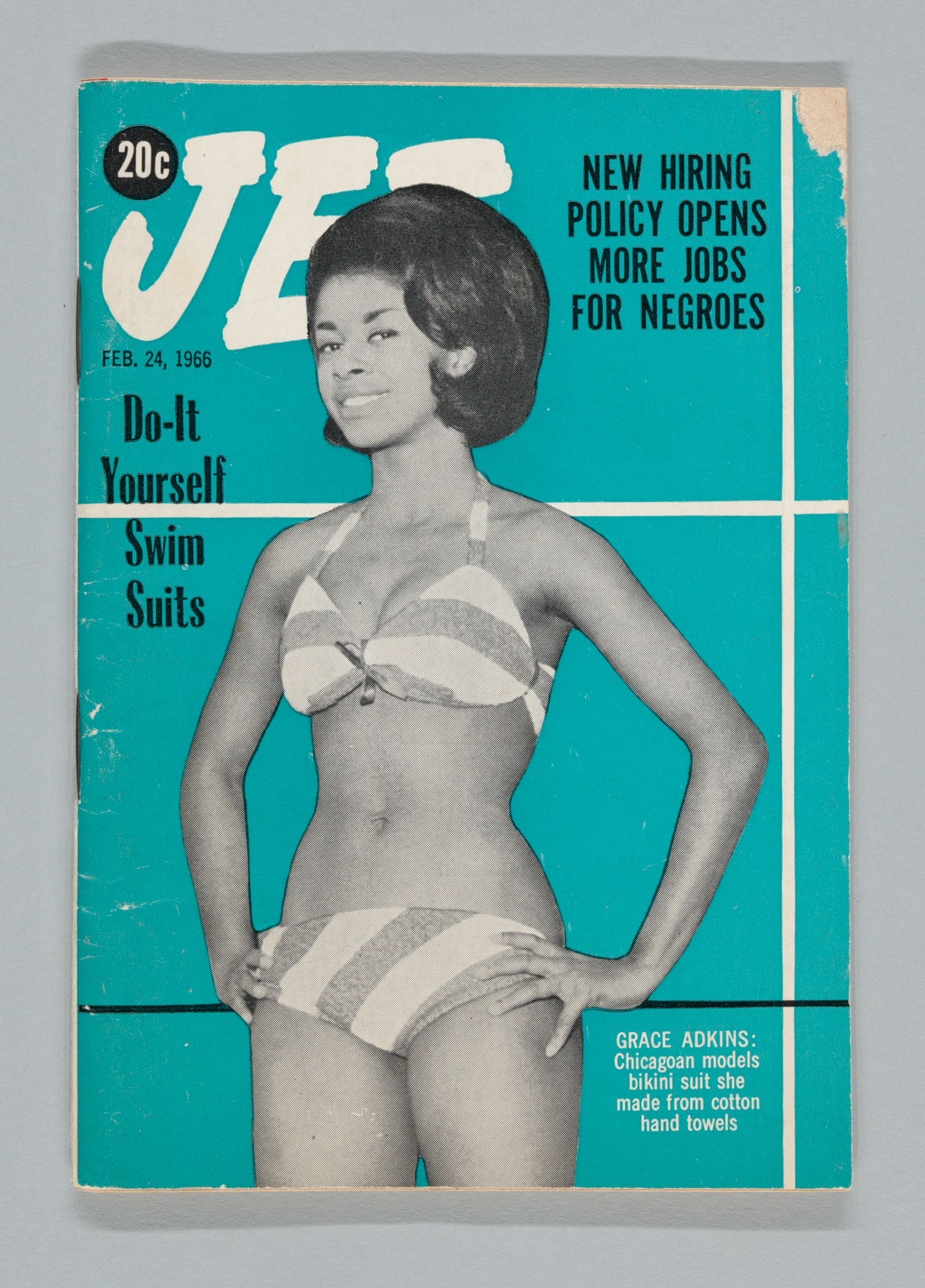 Jet Magazine, Feb. 24, 1966. Cover