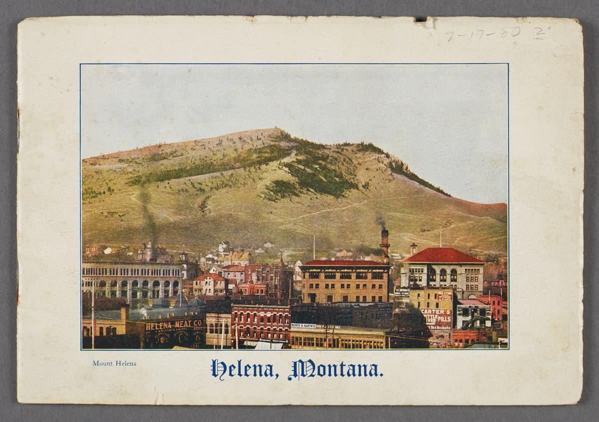 Helena, Montana. Cover of viewbook