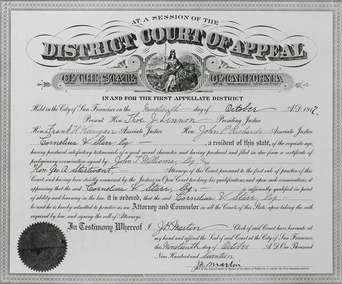 Attorney License
