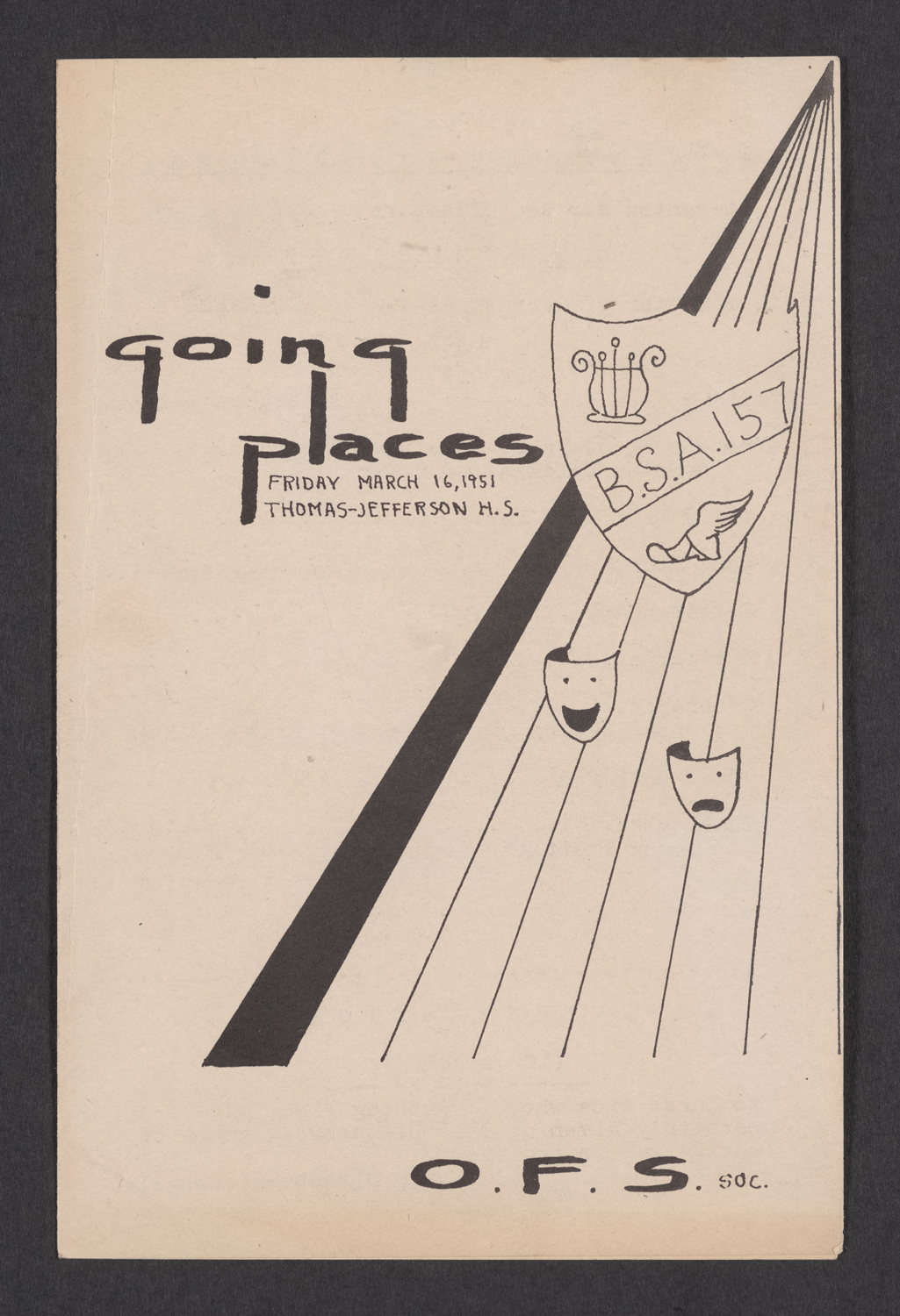 Going Places  : Cover